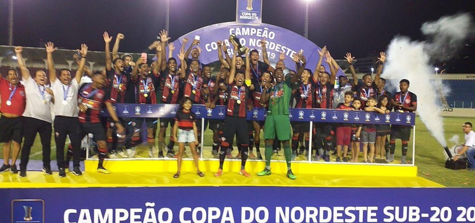 [Vitória vence o Ceará e é campeão da Copa do Nordeste sub-20]