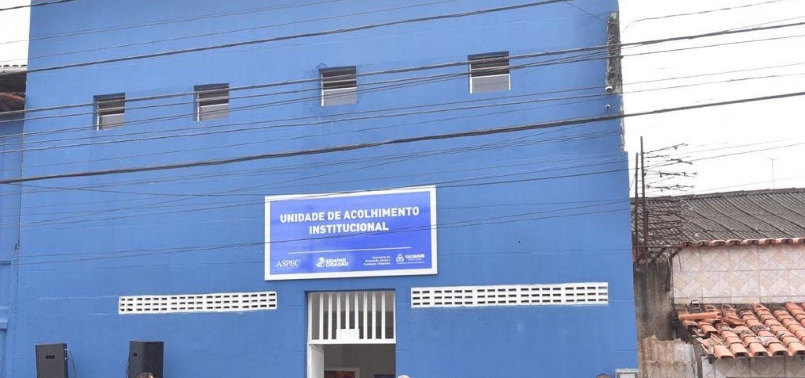 [Unidade para acolher pessoas em situação de rua é inaugurada neste sábado em Itapuã]