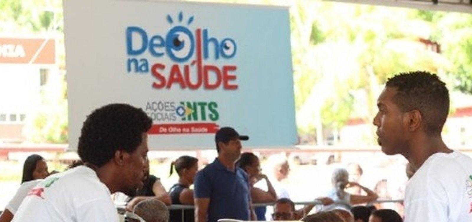 [Ação oferece serviços oftalmológicos gratuitos no Vale do Ogunjá]