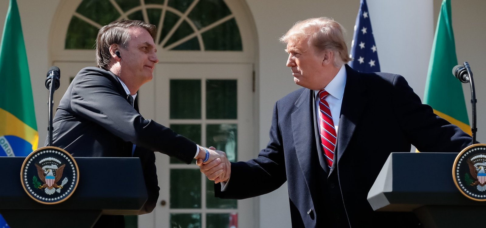 [Trump critica Brasil e Argentina por desvalorização de moedas e anuncia retorno de tarifas]