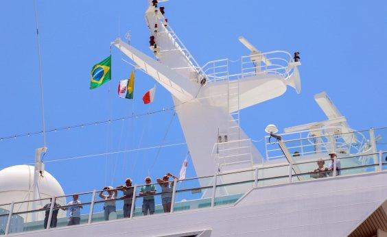 [Porto de Salvador recebe três navios de cruzeiro nesta segunda]