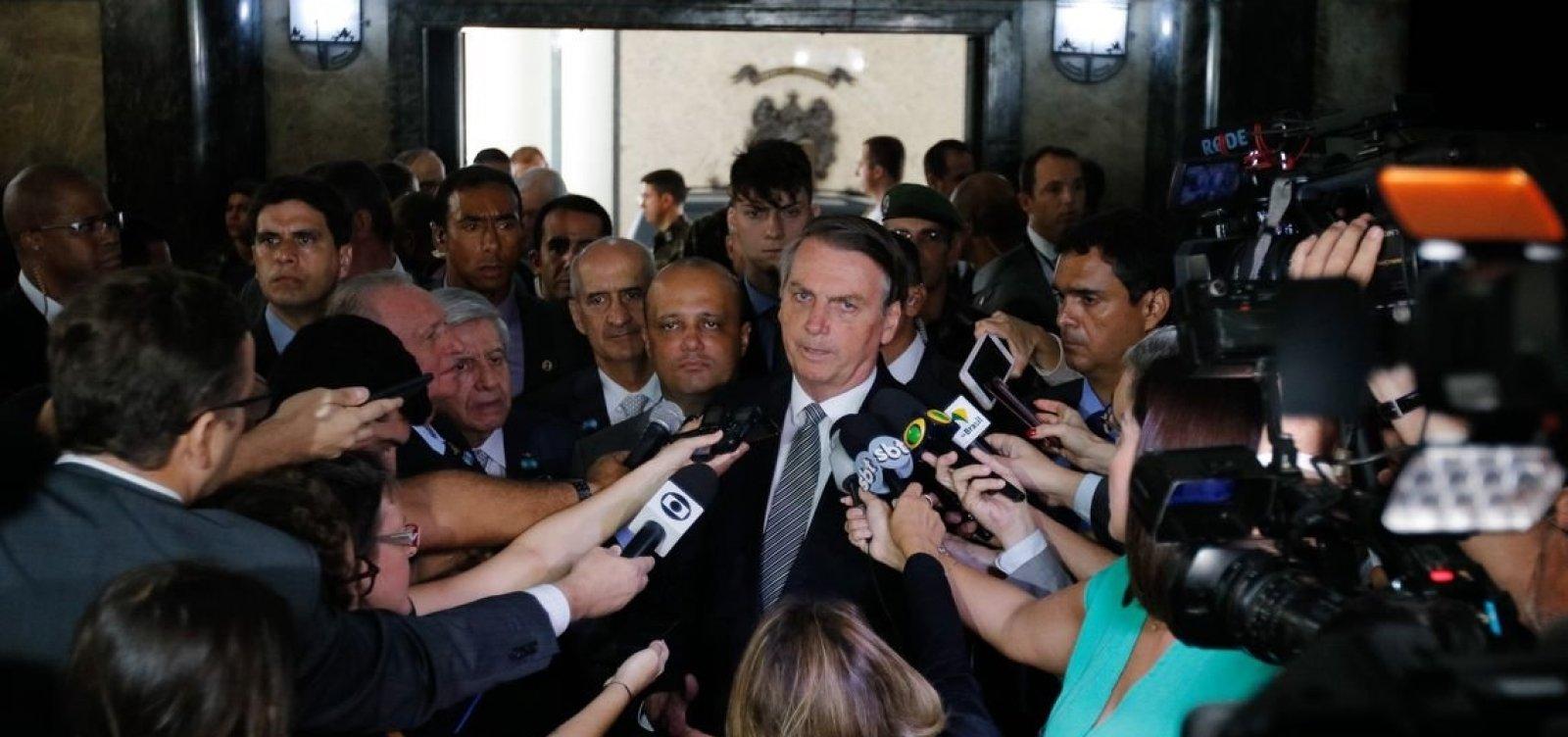 [Bolsonaro diz que lamenta a morte de inocentes em baile funk em Paraisópolis]