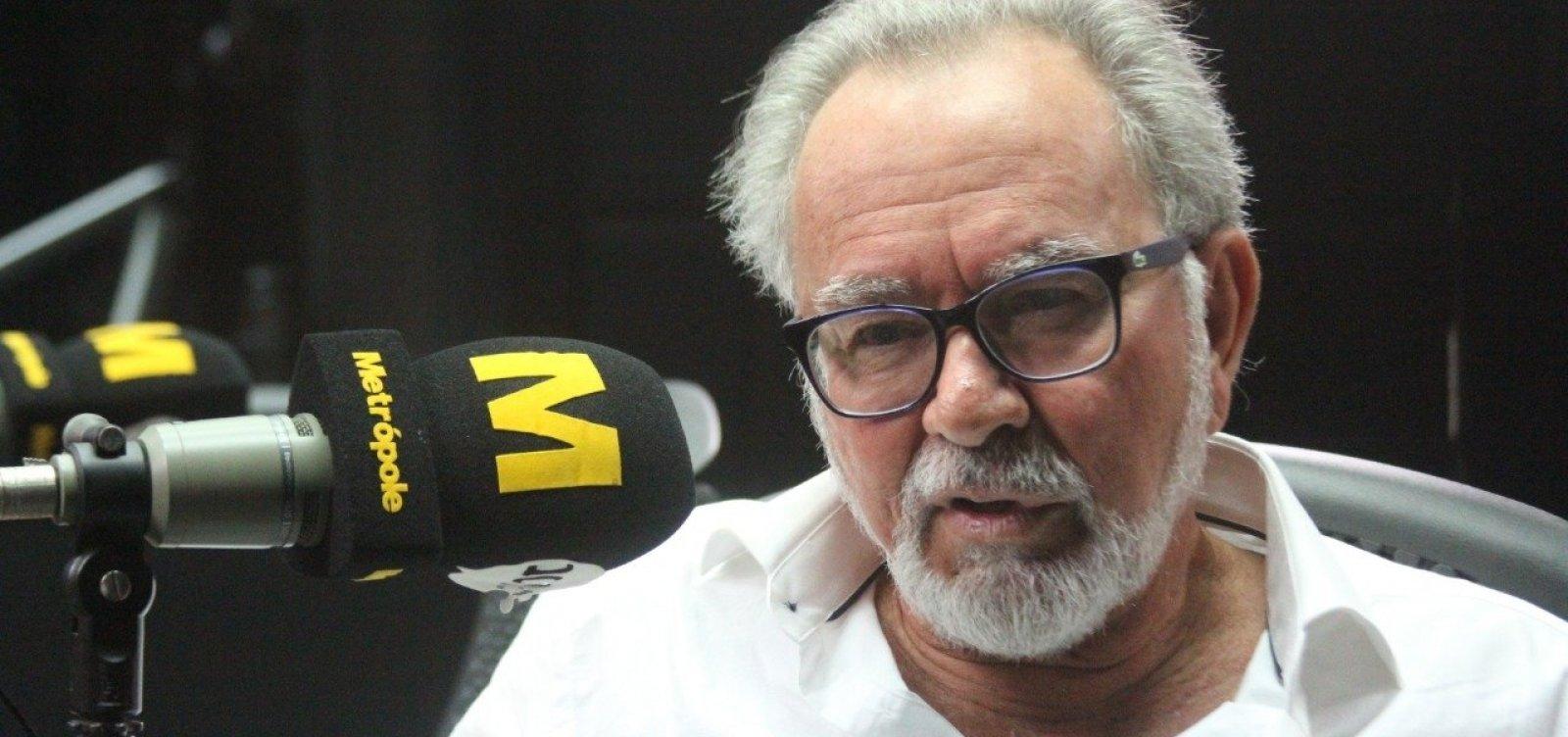 ['Minhas contas com a ditadura foram ajustadas', diz Aécio Pamponet]
