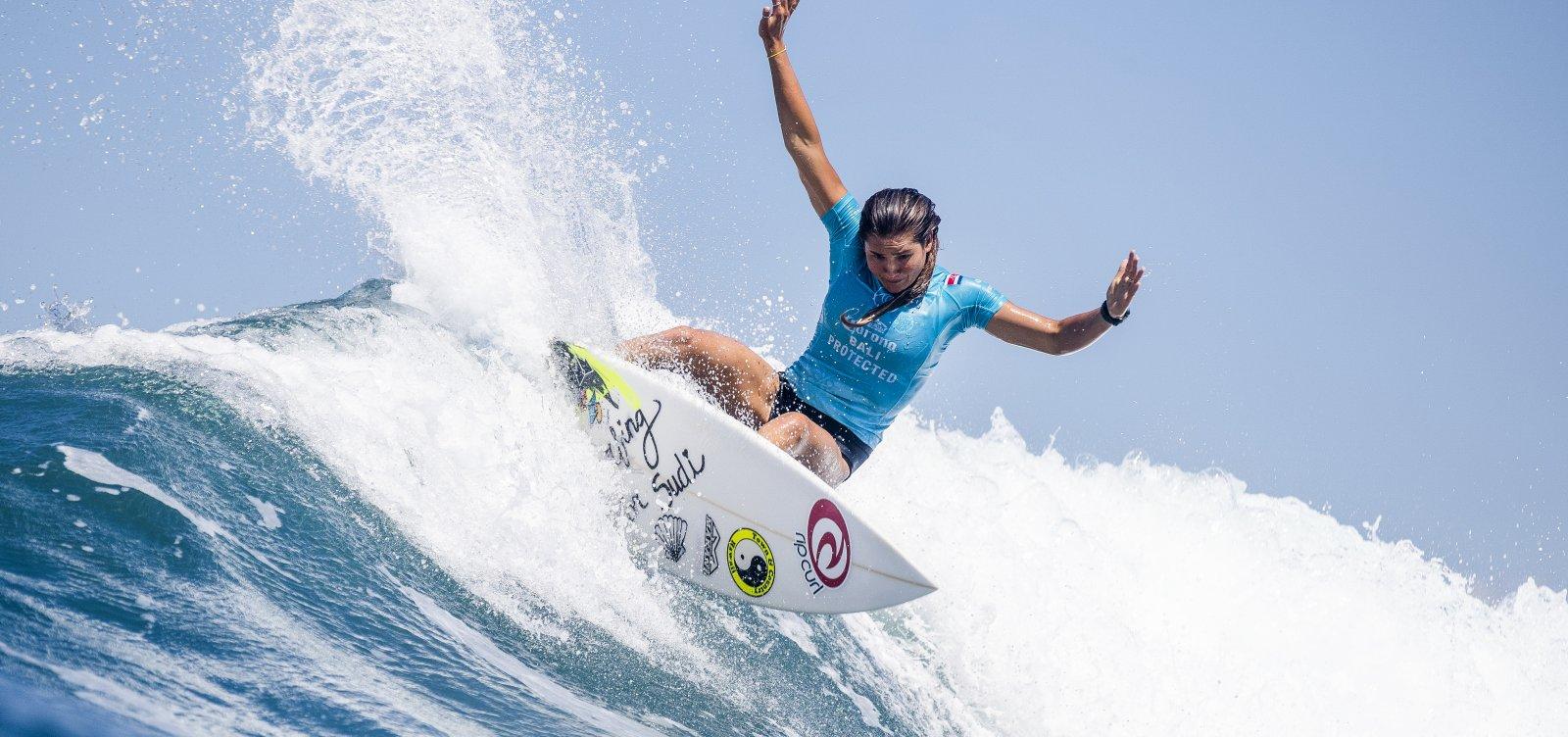 [Silvana Lima conquista vaga para estreia do surfe nas Olimpíadas de Tóquio-2020]