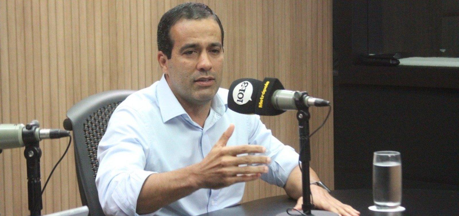 [Eleições 2020: 'Não teria dificuldade nenhuma', diz Bruno Reis sobre aceitar a vice]