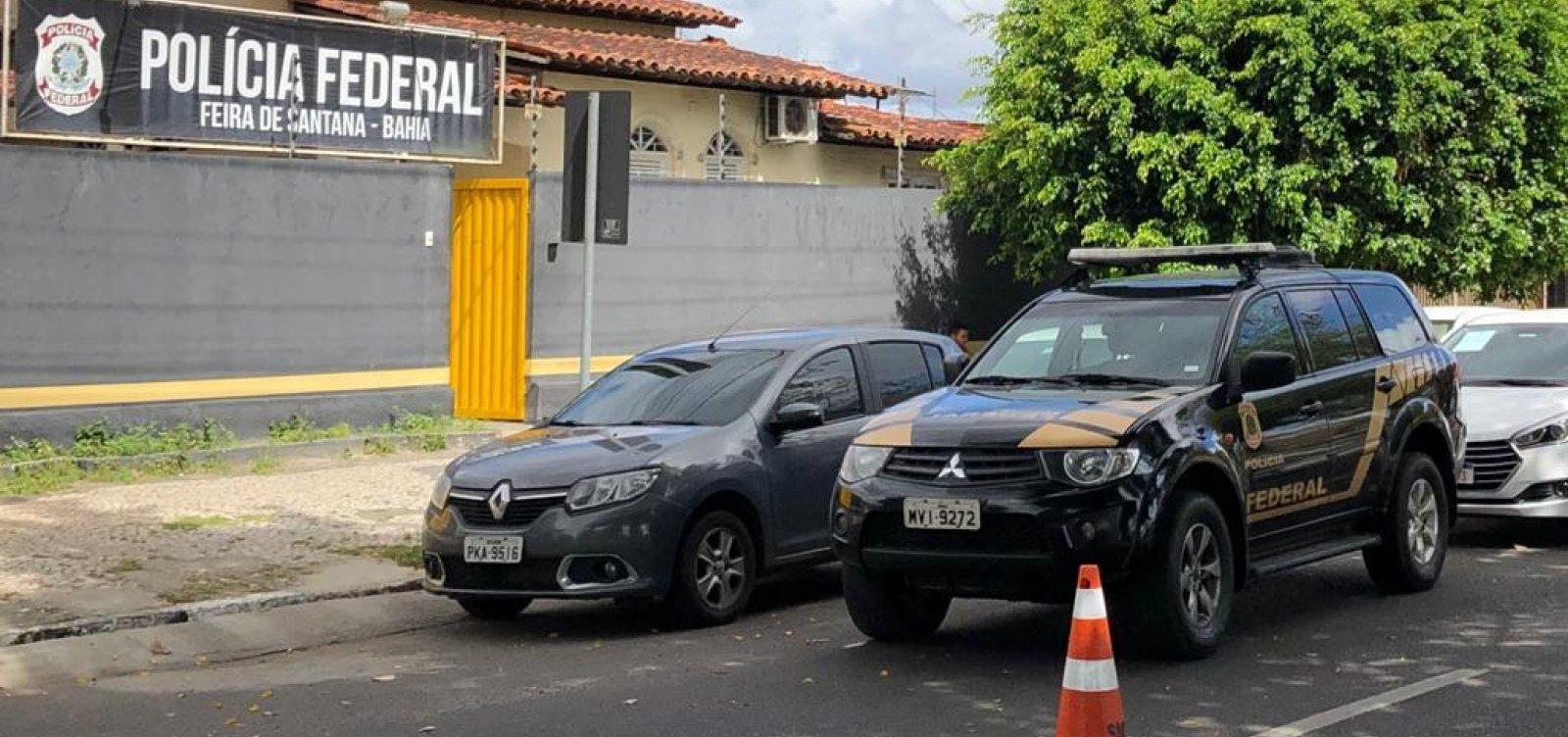 [PF desarticula quadrilha especializada em fraudes contra bancos em Feira de Santana]