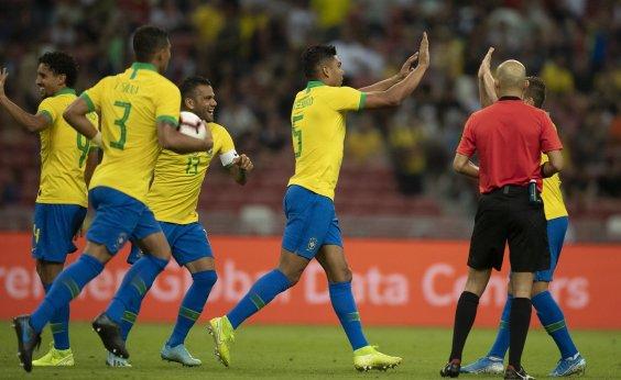 [Brasil estreará contra a Venezuela na Copa América de 2020]