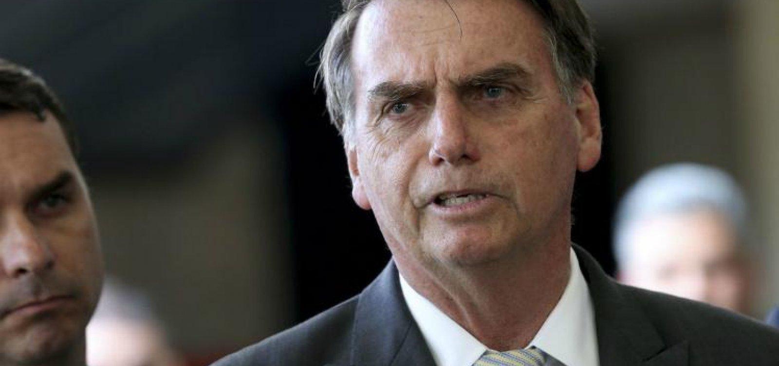['Somos os pobres da história', diz Bolsonaro, sobre disputa com Trump]