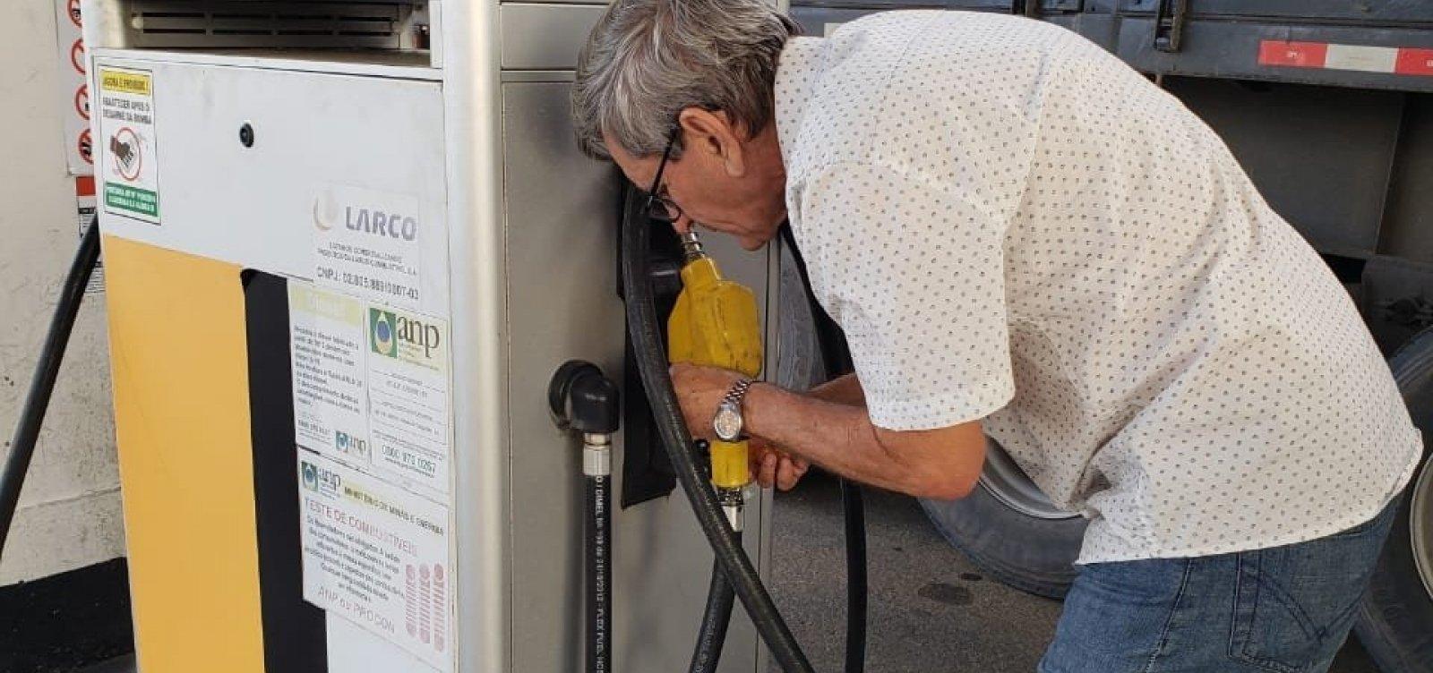 [Laudo do DPT encontra 96% de etanol em gasolina vendida em Vitória da Conquista]