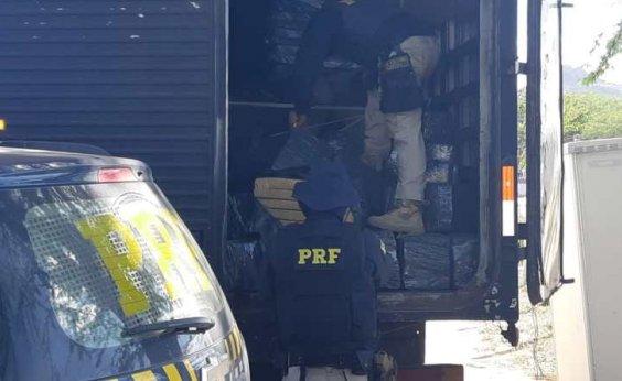 [Casal é preso em flagrante transportando mais de 1 t de maconha na BR-116; veja vídeo]