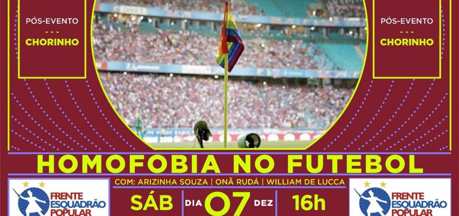 [Torcida organizada do Bahia promove debate amanhã sobre homofobia no futebol]