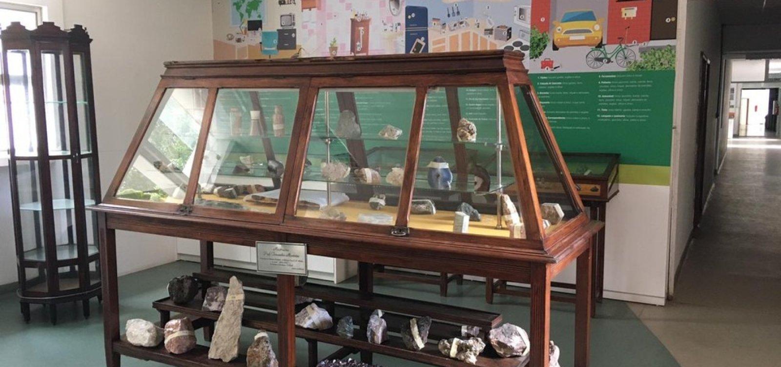 [Museu de Geociências é inaugurado no campus de Ondina da UFBA]