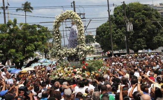 [Festa de Nossa Senhora da Conceição da Praia reúne milhares de fiéis na Cidade Baixa]