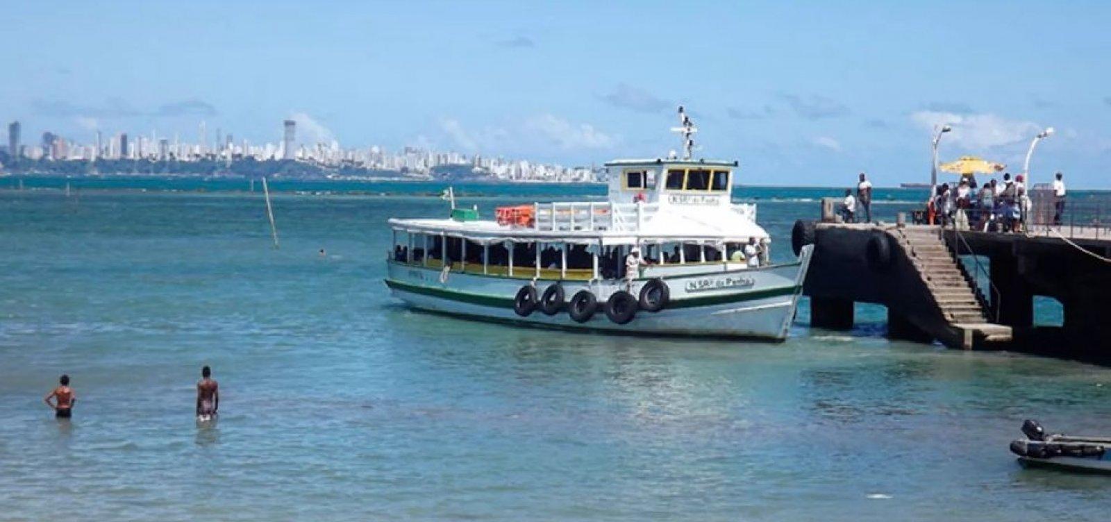 [Travessia Salvador-Mar Grande será encerrada mais cedo devido à maré baixa]