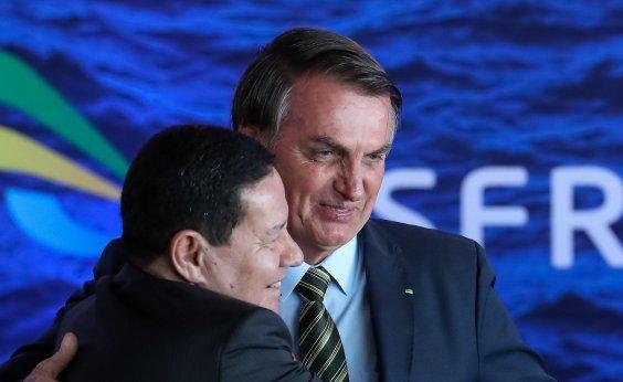 [Bolsonaro muda de ideia e manda Mourão para posse de presidente da Argentina]