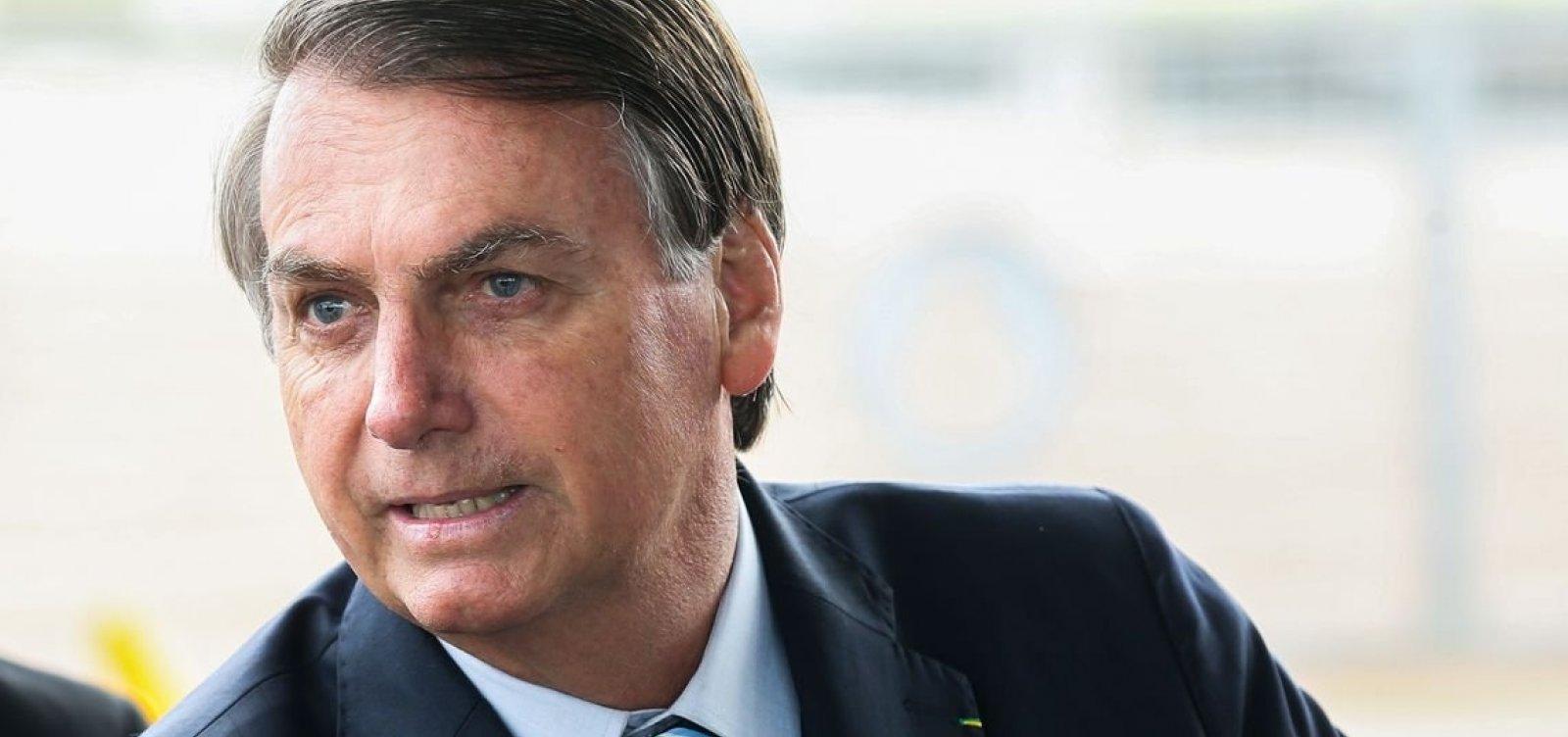 [Bolsonaro sobre Mourão ir à Argentina: 'Na política há imprevisto a todo momento']