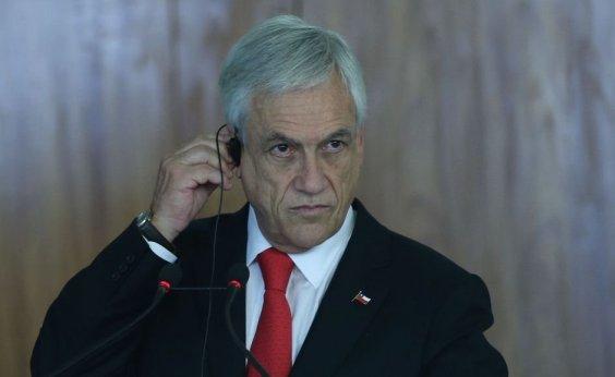 [Piñera anuncia plano de recuperação ocular após protestos no Chile]