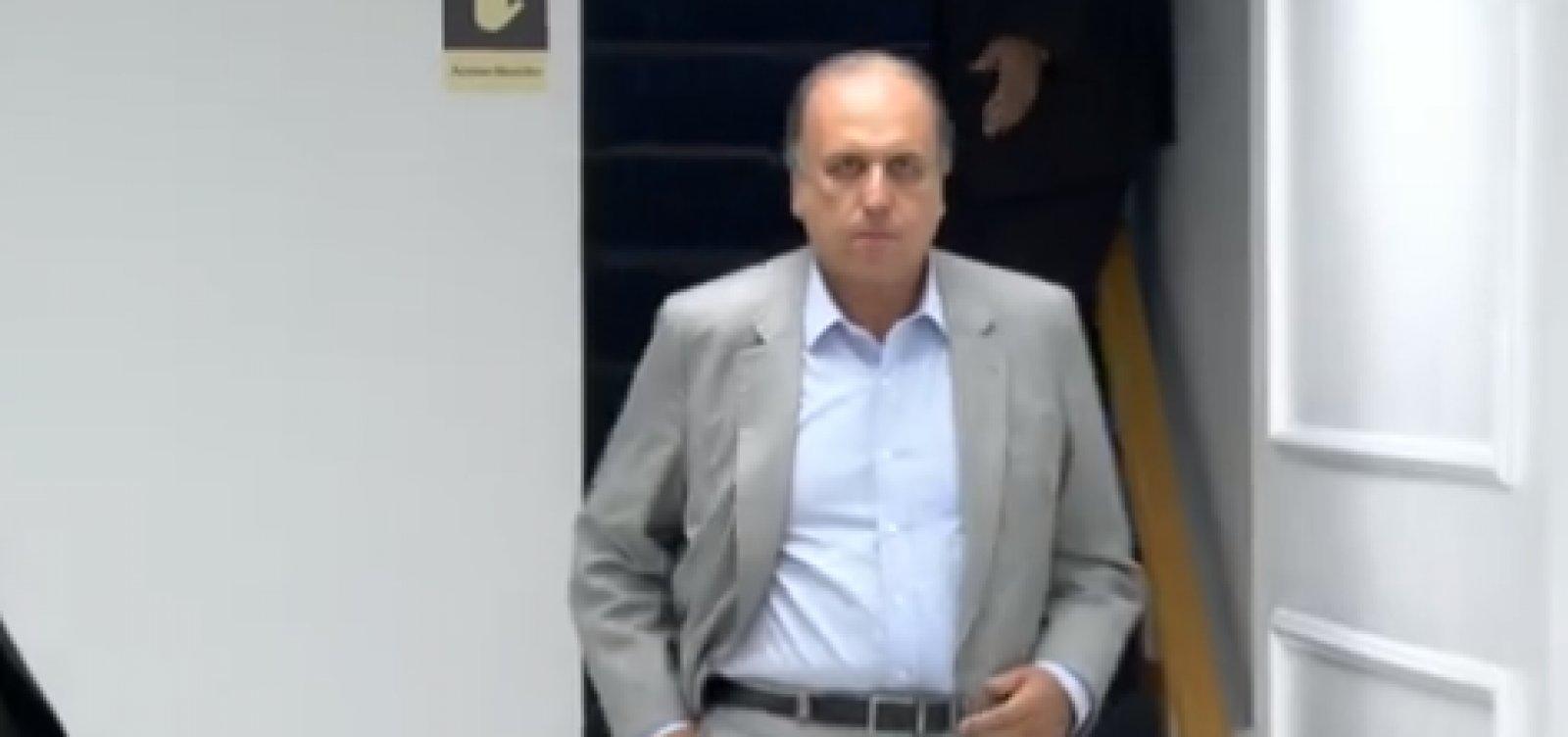 [STJ manda soltar ex-governador Luiz Fernando Pezão]