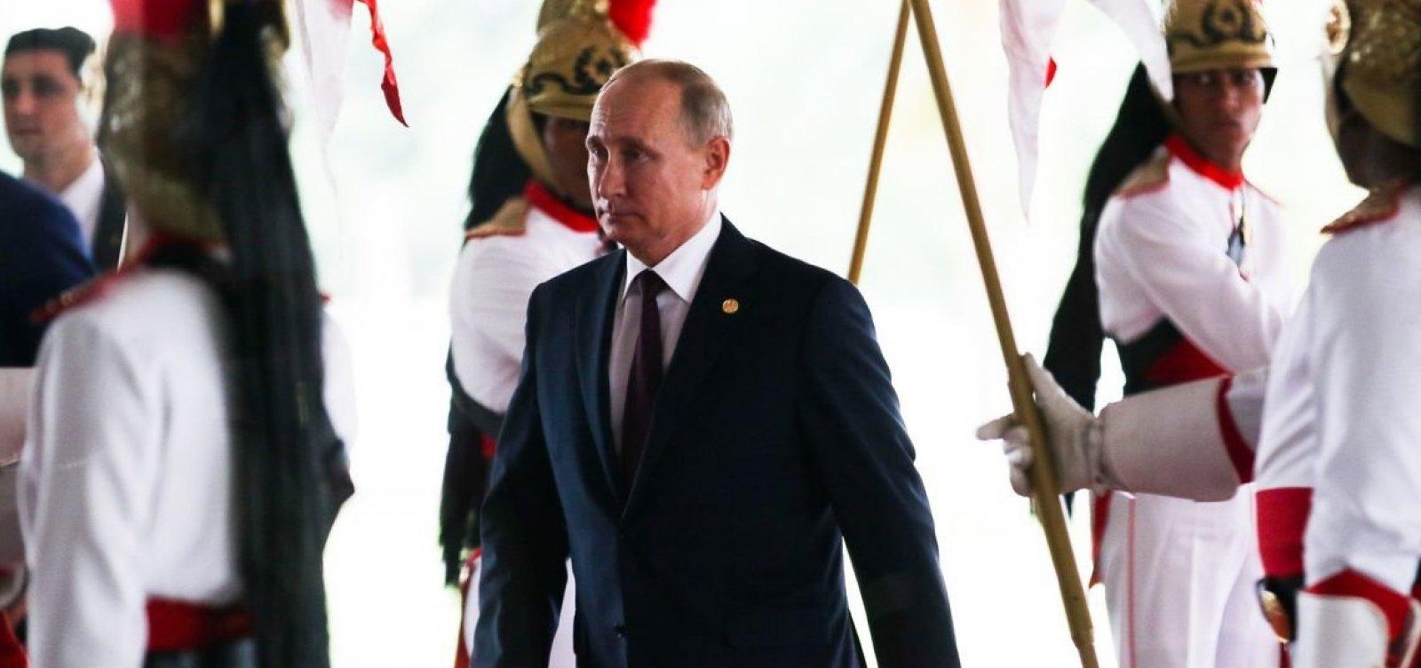 [Putin diz que punições por doping devem ser individuais]