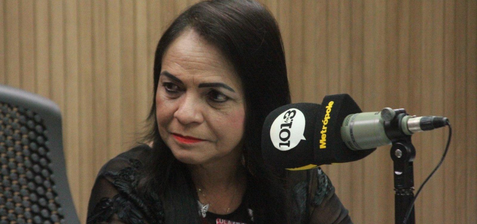 [Moema diz que tem 'direito de ser pré-candidata' admite pela 1ª vez que vai concorrer]
