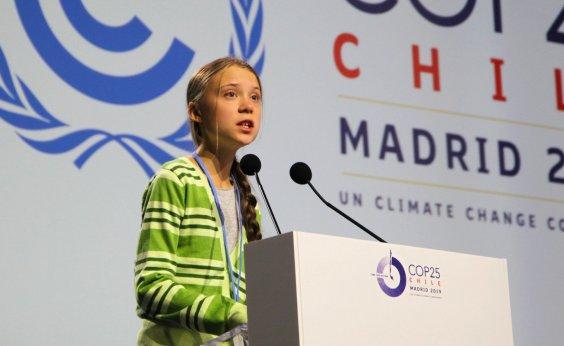 [Na COP 25, Greta Thunberg critica políticos e empresários na luta contra mudanças climáticas]