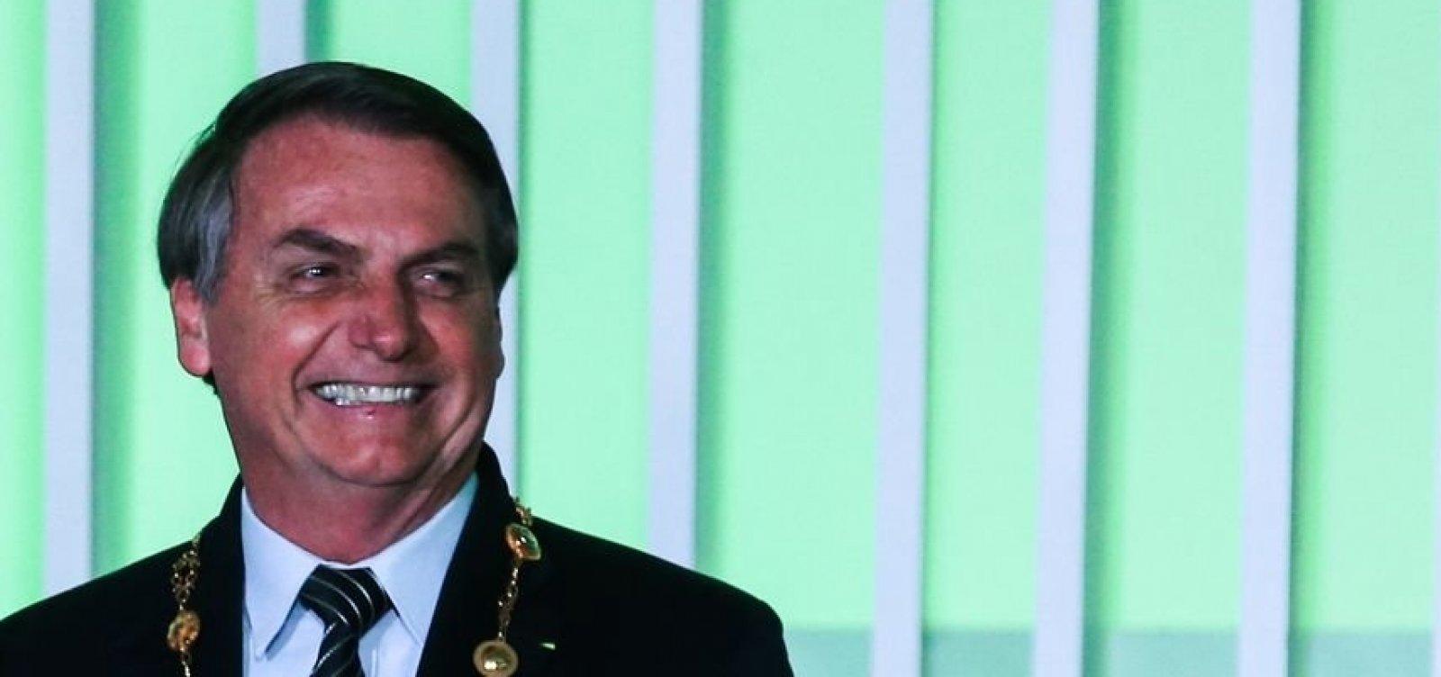 [Bolsonaro não garante candidatura à presidência em 2022]