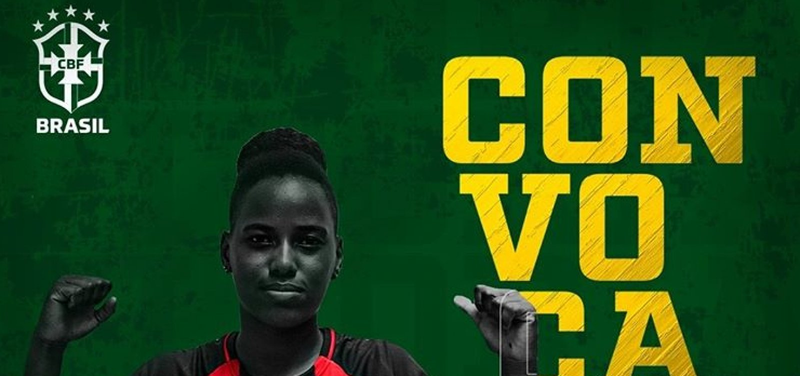 [Lateral do Vitória é convocada para seleção brasileira Sub-17]