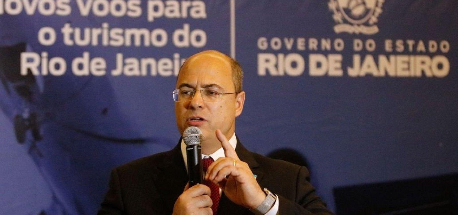 [Planalto recebe denúncia de que Witzel atua para incriminar Bolsonaro]