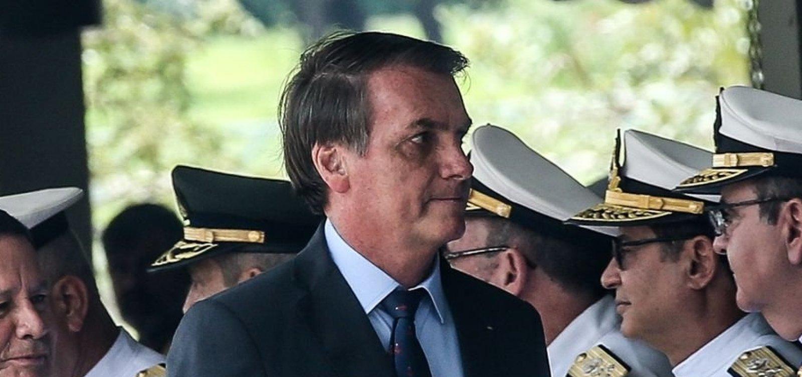 [Bolsonaro volta a exaltar ações de presidentes da ditadura militar]