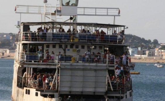 [Ferry-Boat registra fluxo intenso de pedestres em Salvador, na manhã de hoje]