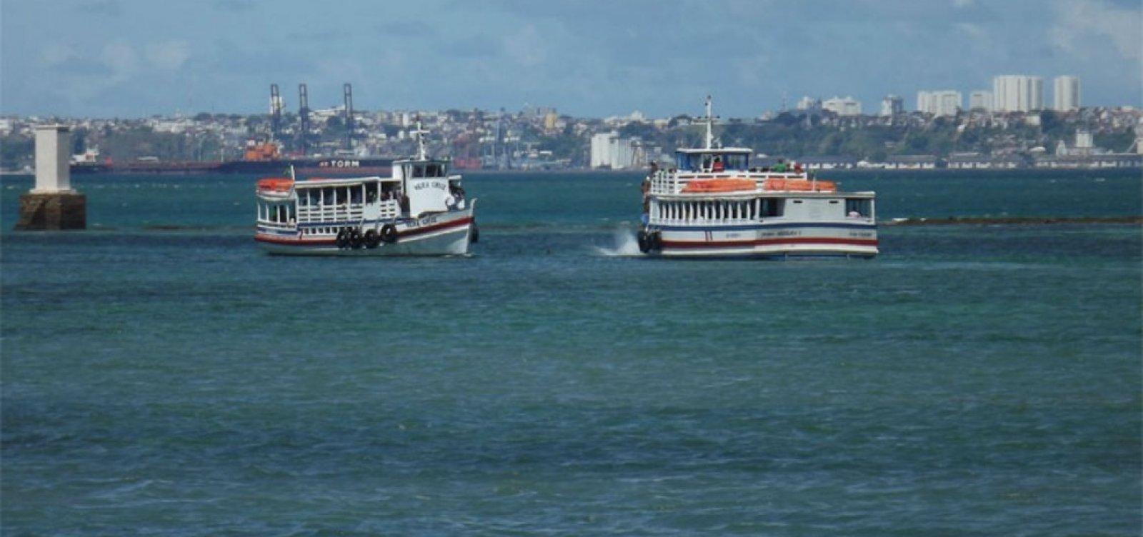 [Após suspensões durante a semana, Travessia Salvador-Mar Grande opera sem restrições]