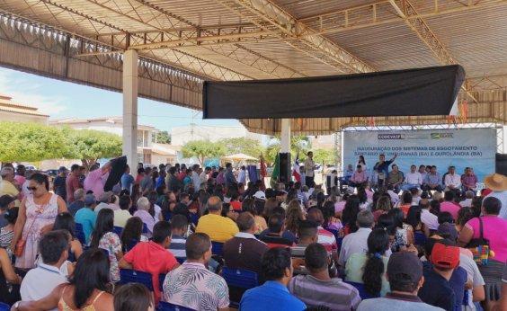 [Codevasf investe cerca de R$ 24 mi para implantar sistema de esgotamento sanitário emUmburanas e Ourolândia]