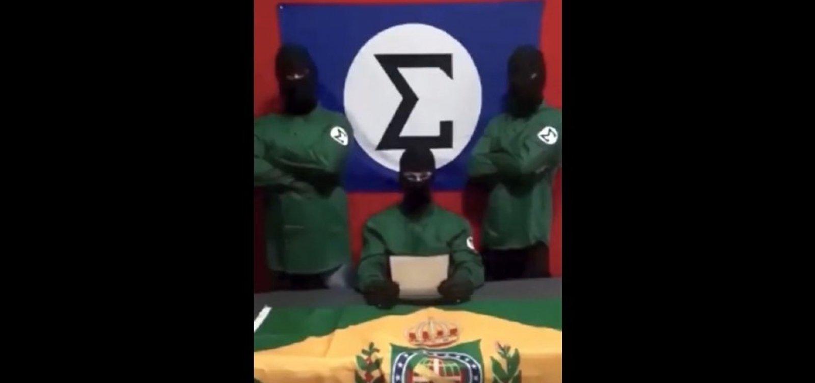 [Grupo integralista divulga vídeo de ataque contra sede do Porta dos Fundos e assume autoria]