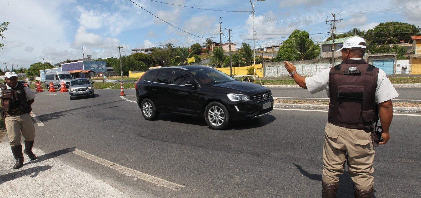 [PM-BA inicia hoje fiscalizações da Operação Réveillon 2019 nas estradas do estado]