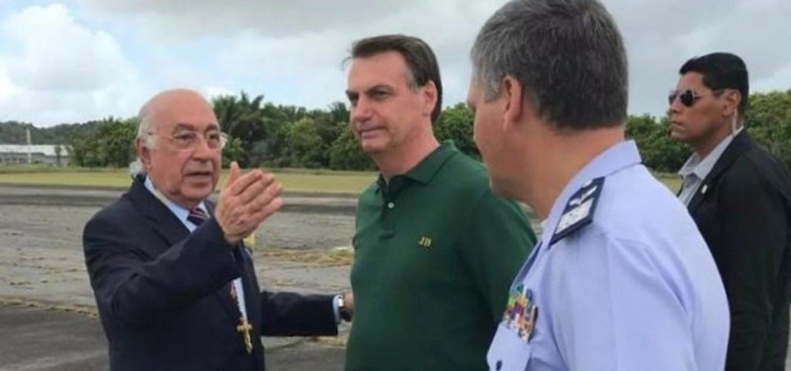 [Bolsonaro deixa Salvador e retorna a Brasília para passar Réveillon no Alvorada]