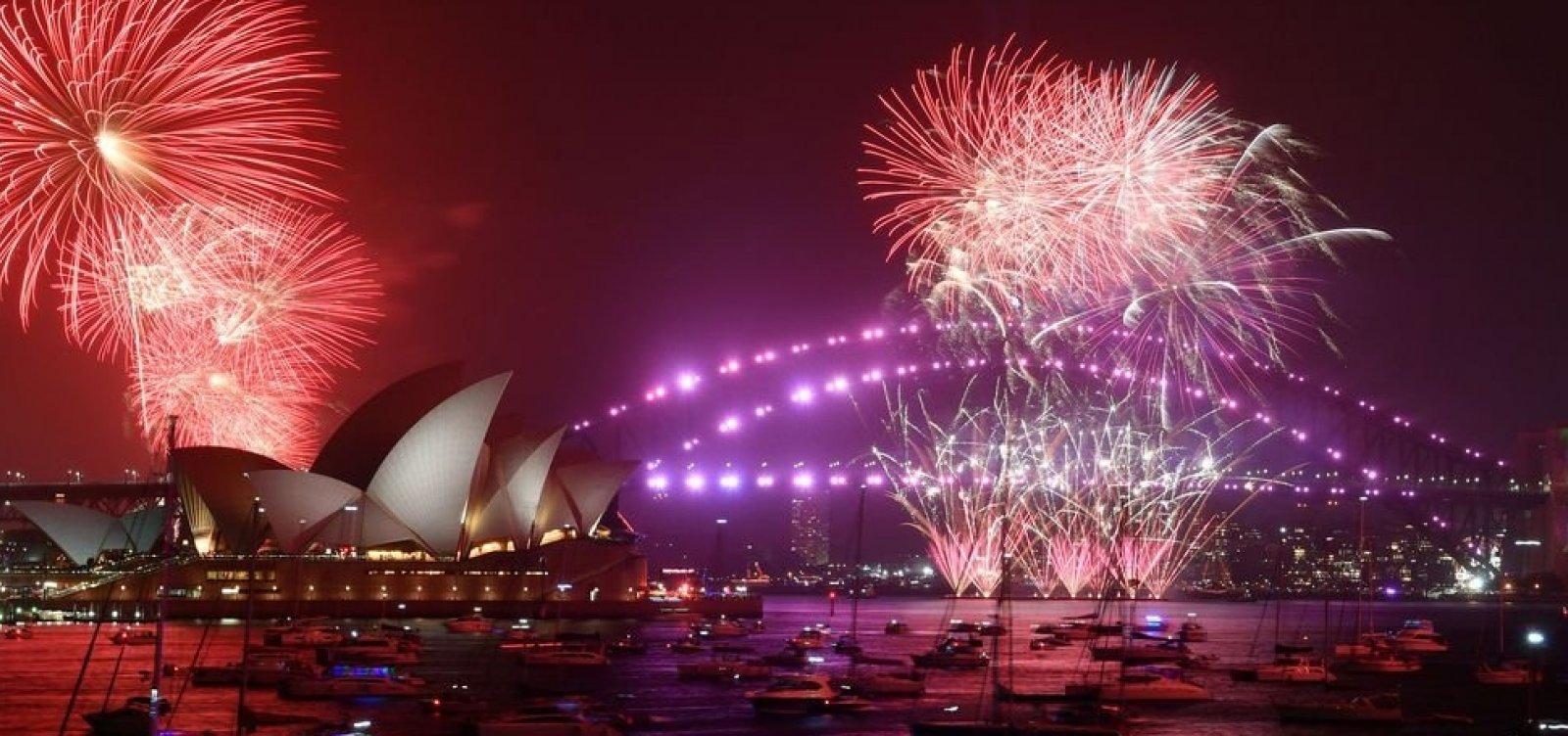 [Nova Zelândia comemora ano-novo e é o primeiro país a entrar em 2020]