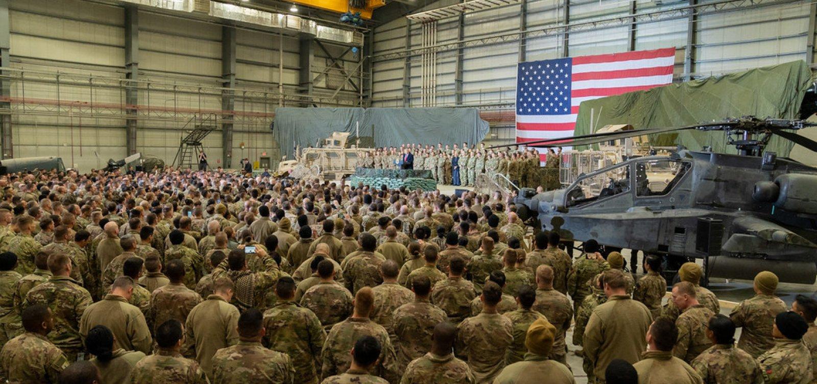 [Governo americano anuncia envio de tropas ao Oriente Médio após tensão com Irã ]