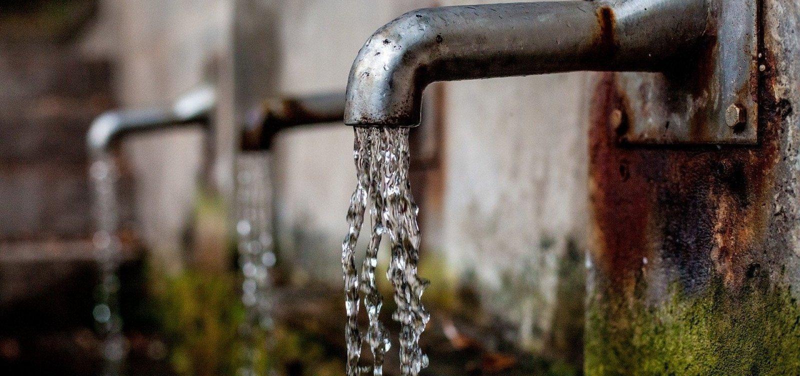 [Manutenção emergencial interrompe fornecimento de água em cinco cidades baianas]