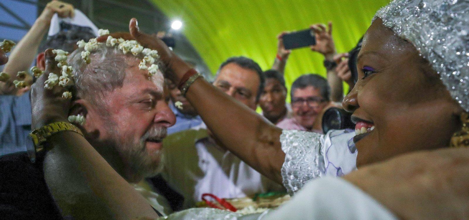 [Lula deve rejeitar convite do PT para participar da Lavagem do Bonfim]