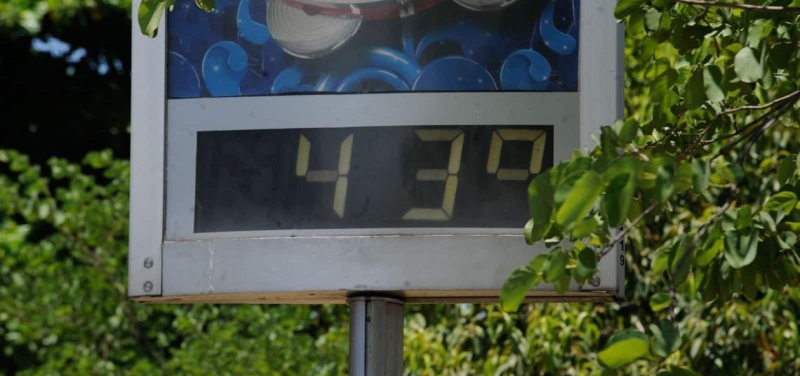 [Ano de 2019 foi o segundo mais quente do mundo]