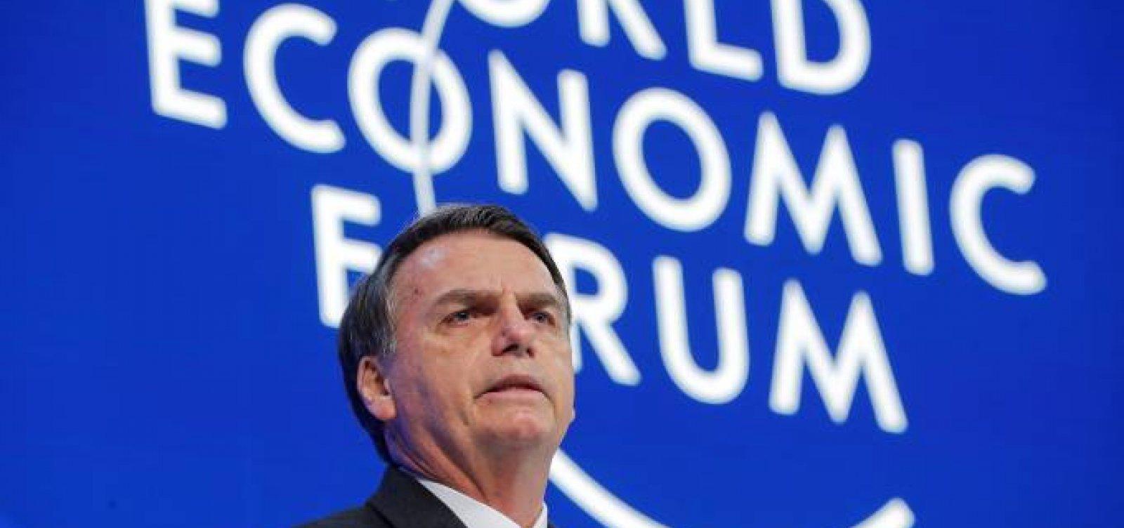 [Bolsonaro cancela ida a Davos em definitivo; Guedes está confirmado]