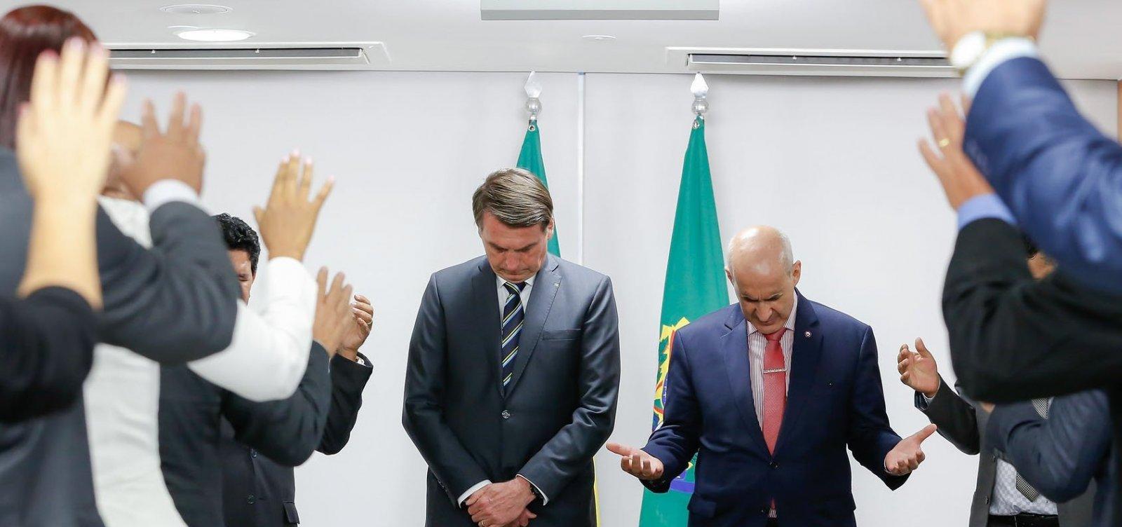 [Bolsonaro planeja subsidiar conta de energia de igrejas ]