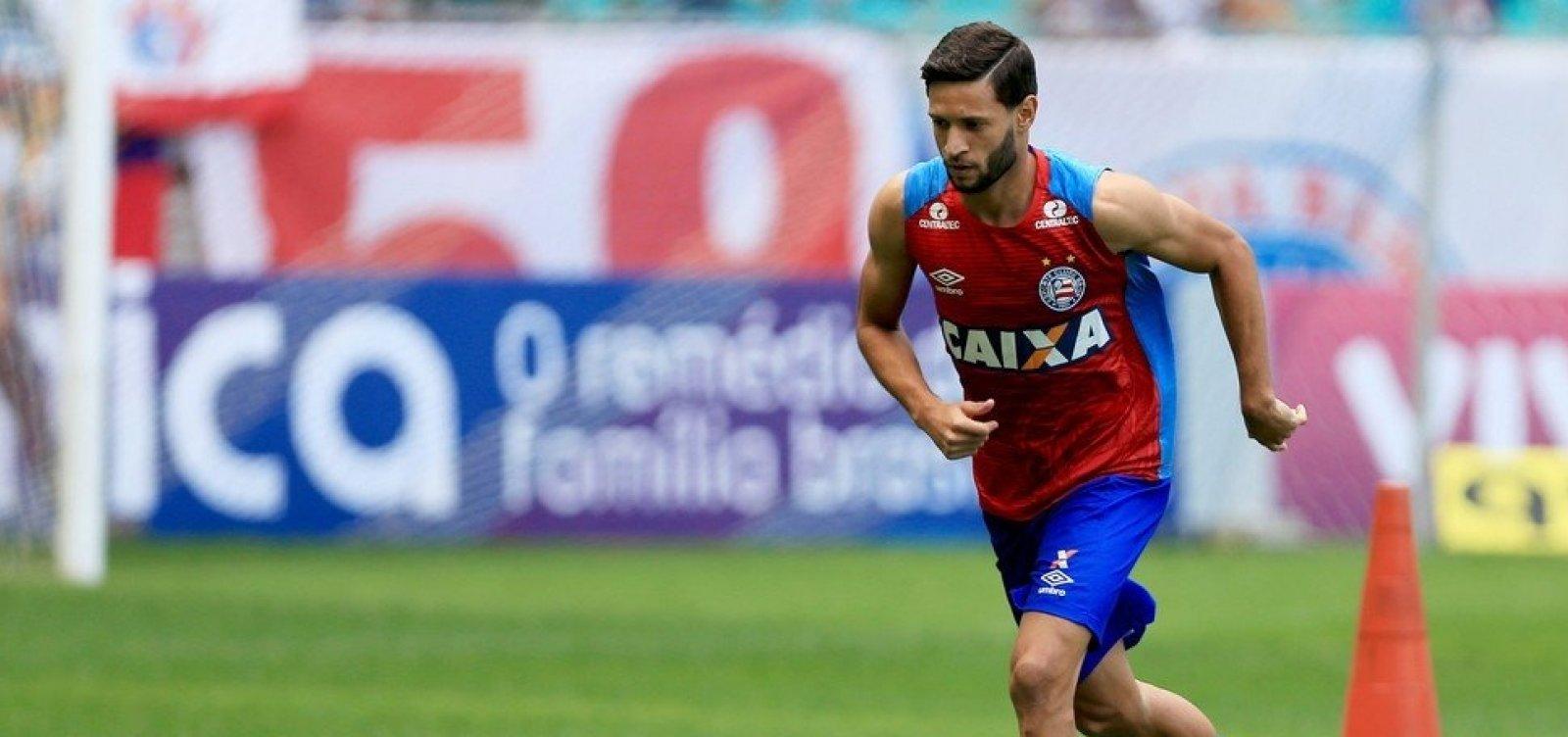 [Joia do Bahia, Juninho Capixaba volta ao clube por empréstimo até o final da temporada]