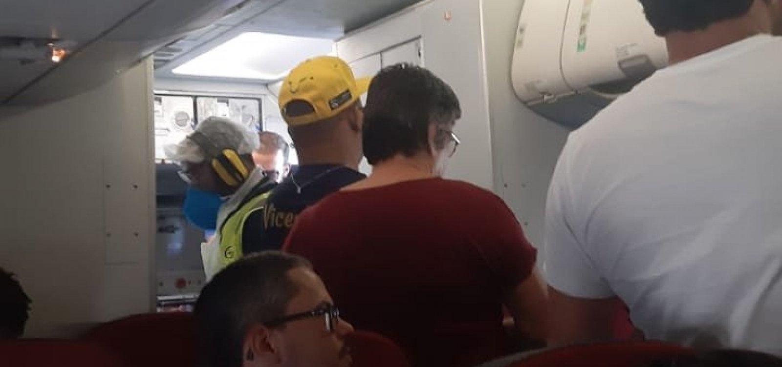 [Após problemas na pista principal, cinco voos são realocados do Aeroporto de Salvador]