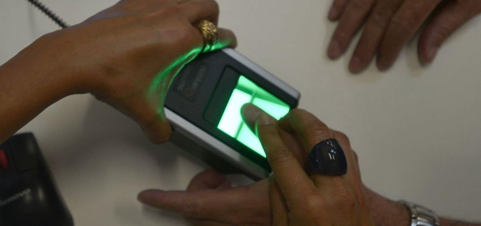 [Mais de 900 mil títulos podem ser cancelados na Bahia por falta de cadastro biométrico]