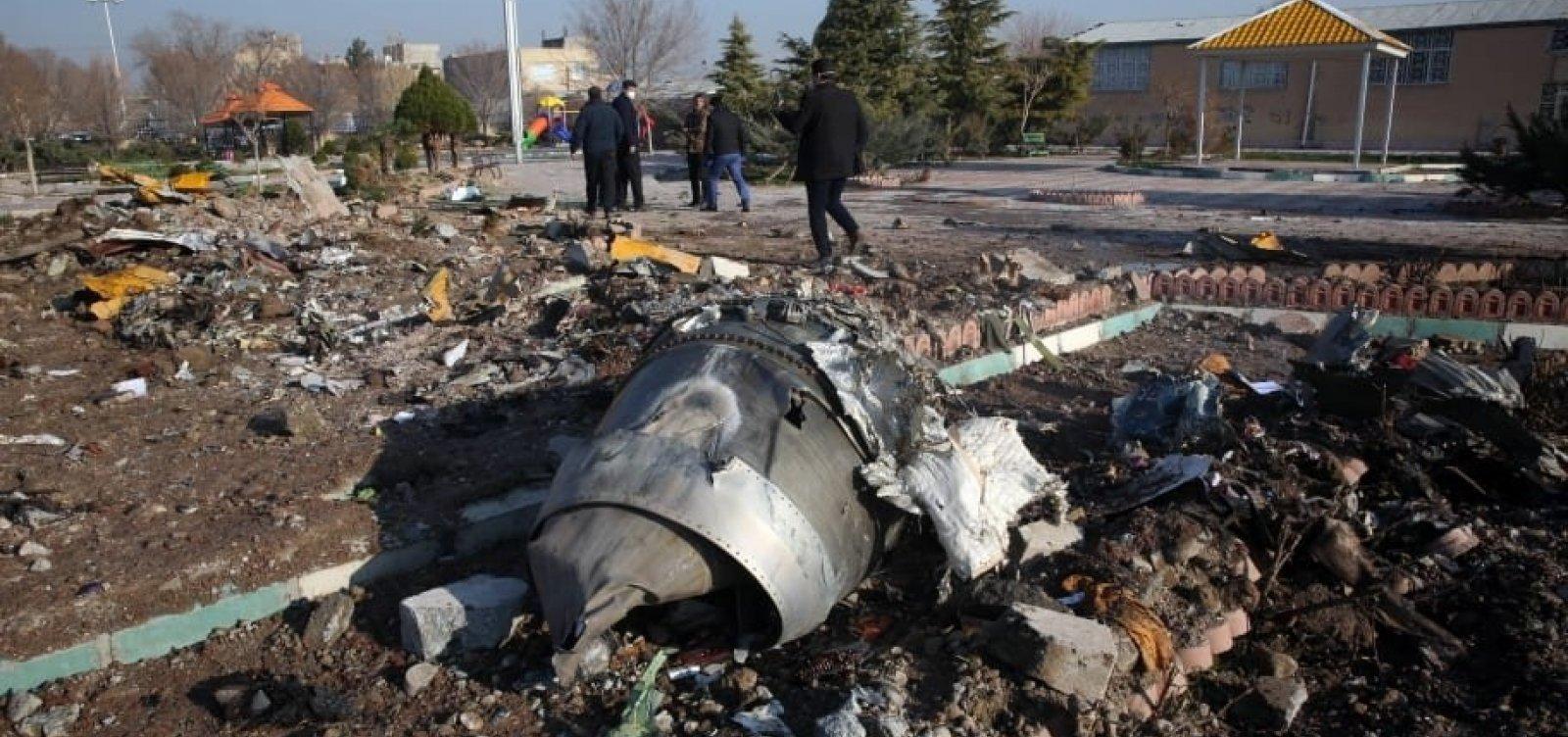 [Irã anuncia prisão de acusados por envolvimento em queda de avião ucraniano]