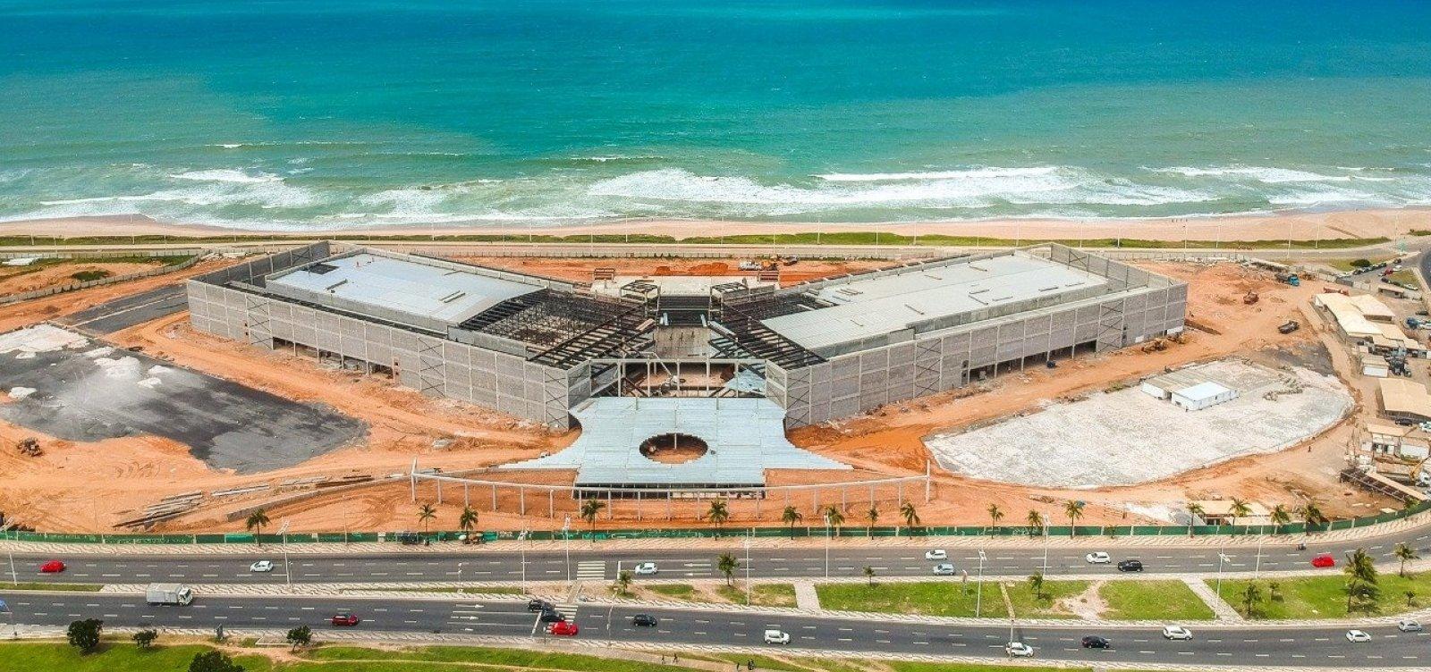 [Primeiro evento do Centro de Convenções de Salvador será no dia 15 de março]