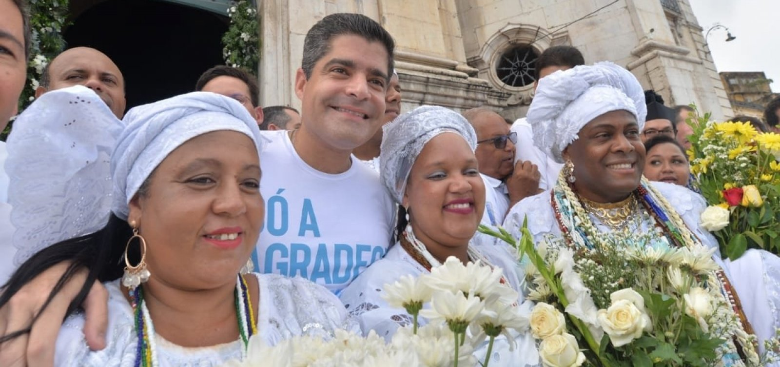 [ACM Neto celebra última Lavagem do Bonfim como prefeito de Salvador]