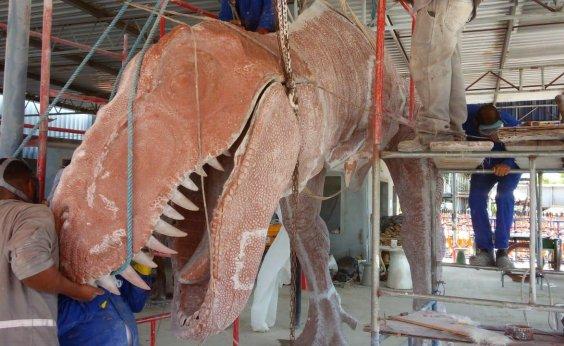[Parque dos Dinossauros, em Salvador, será entregue em maio]