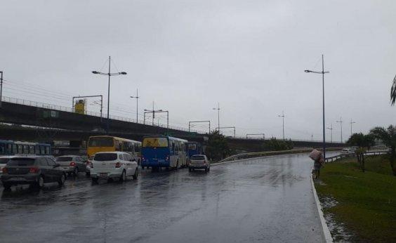 [Previsão é de céu parcialmente nublado com possibilidade de chuva neste fim de semana em Salvador]